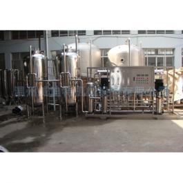 4吨二级RO反渗透水处理设备