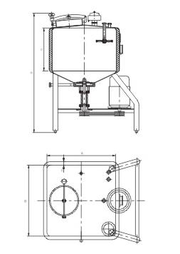 方形乐天堂下载地址乳化罐结构图