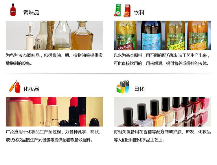 不锈钢易胜博官网网站乳化机适用领域